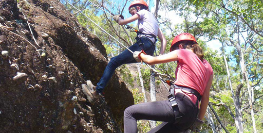 Abseiling Challenge