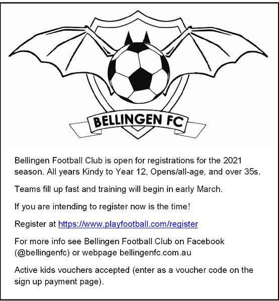 Bellingen Football Club